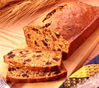 Low Fat Pumpkin Bread with Dried Plums