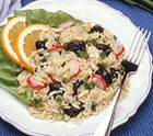 Citrus Rice Pilaf Salad