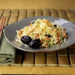 Double Delight Salad with Creamy Asian Dressing