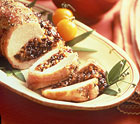 Loin of Pork with Dried Plum Stuffing