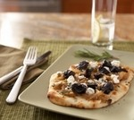 Pizzettas with California Dried Plums & Caramelized Onions