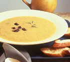 Puree of Acorn Squash and Dried Plum Soup