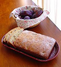 Dried Plum Nut Bread
