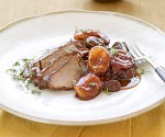 Beef Brisket with Dried Plums