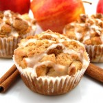 Apple-Raisin-Walnut Muffin
