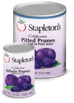 Dried Prunes Cans