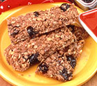 Butterscotch Plum Oat Bars