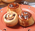 Plum Good Sticky Buns