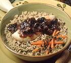 Chicken Sauté with Balsamic-Dried Plum Sauce