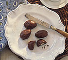 Chocolate Dipped Dried Plums