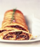 Dried Plum and Goat Cheese Strudel
