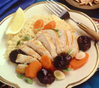 Easy Moroccan Chicken with Dried Plums