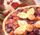 Holiday Dried Fruit Tart