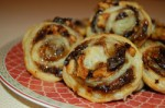 Dried Plum & Walnut Pinwheel