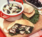 Healthy Turkey Salad Pockets